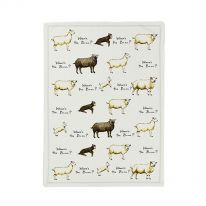 Where's the Baaa? Tea Towel