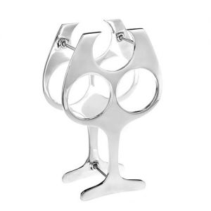 At Home in the Country - Wine Glass Bottle Holder