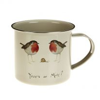Yours or Mine? Tinware Mug